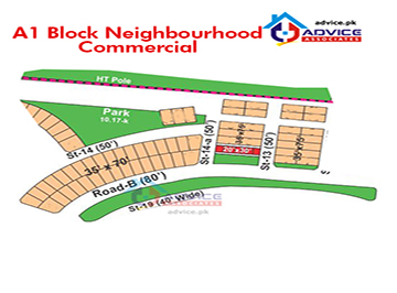 Bahria Town Phase 8 A1 Mini Commercial