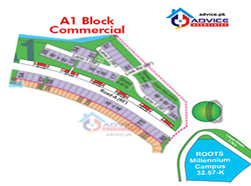 Bahria Town Phase 8 A1 Commercial