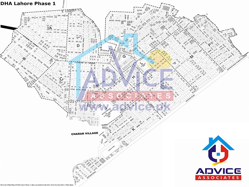 DHA Lahore Phase 1 sector A