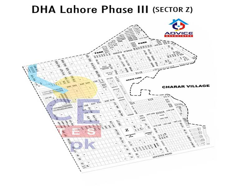 DHA Lahore Phase 3 sector Z