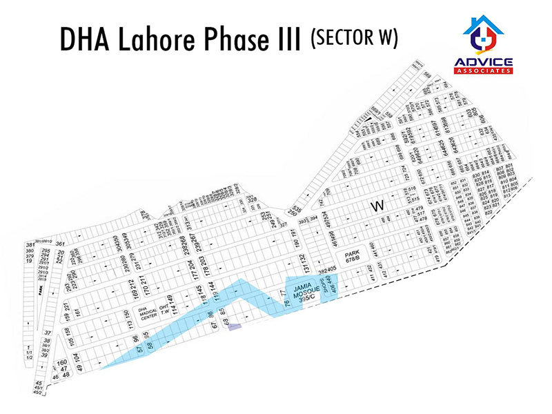 DHA Lahore Phase 3 sector W