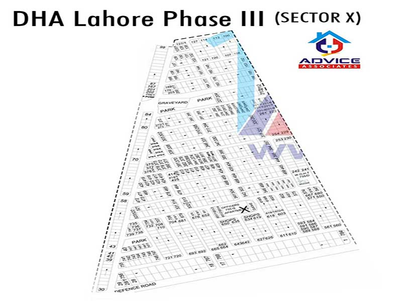 DHA Lahore Phase 3 sector X