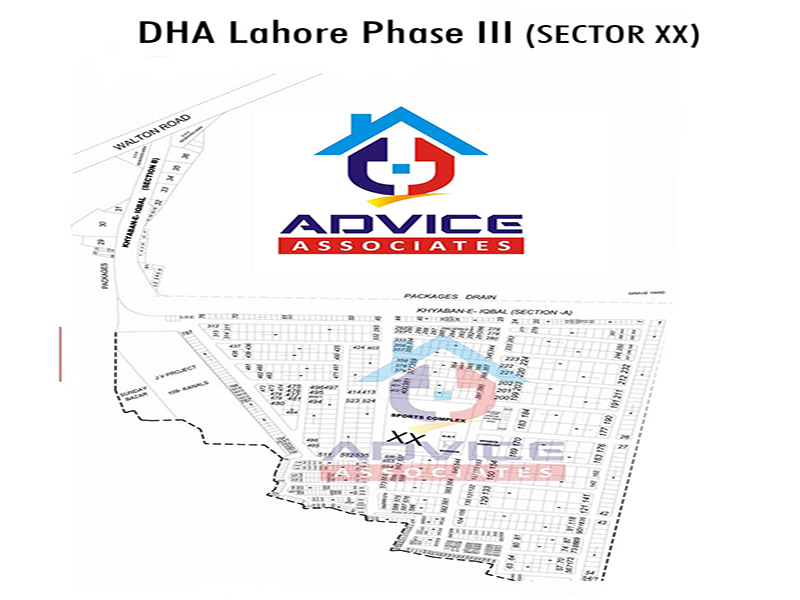 DHA Lahore Phase 3 sector XX