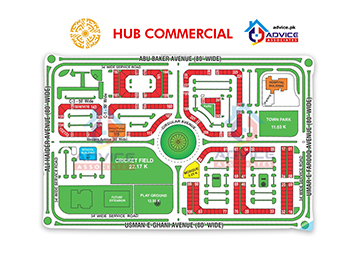 Phase 8 Hub Commercial Map