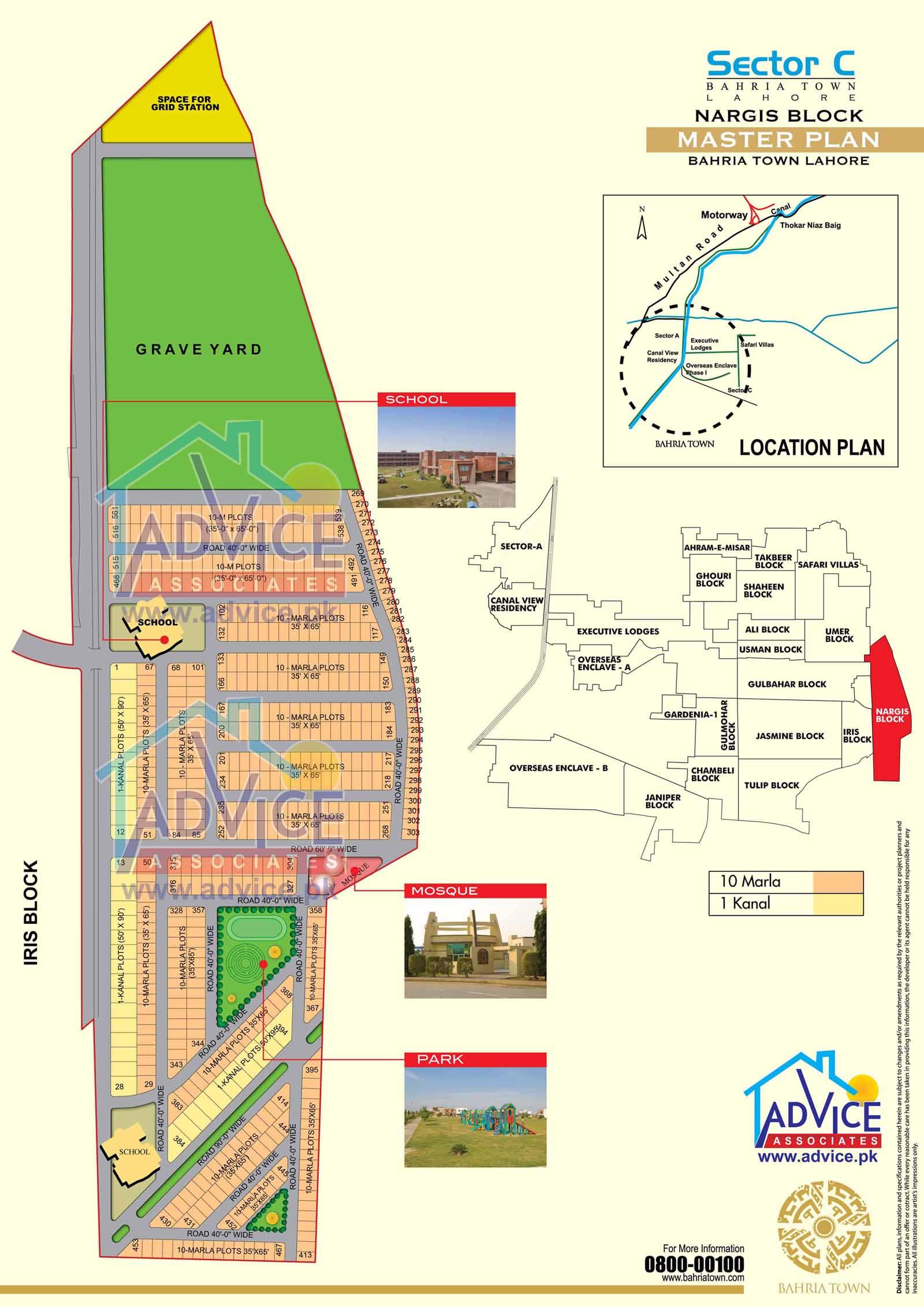 Maps | Bahria Town Lahore | Bahria Orchards Maps | Master Plan Bahria ...