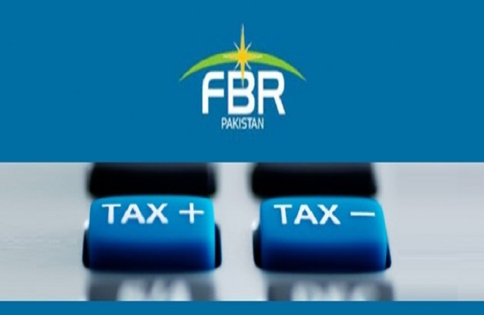 A tax notification is issued by the FBR