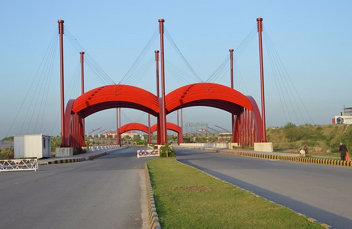 Gulberg Resdiencia Link Bridge is open