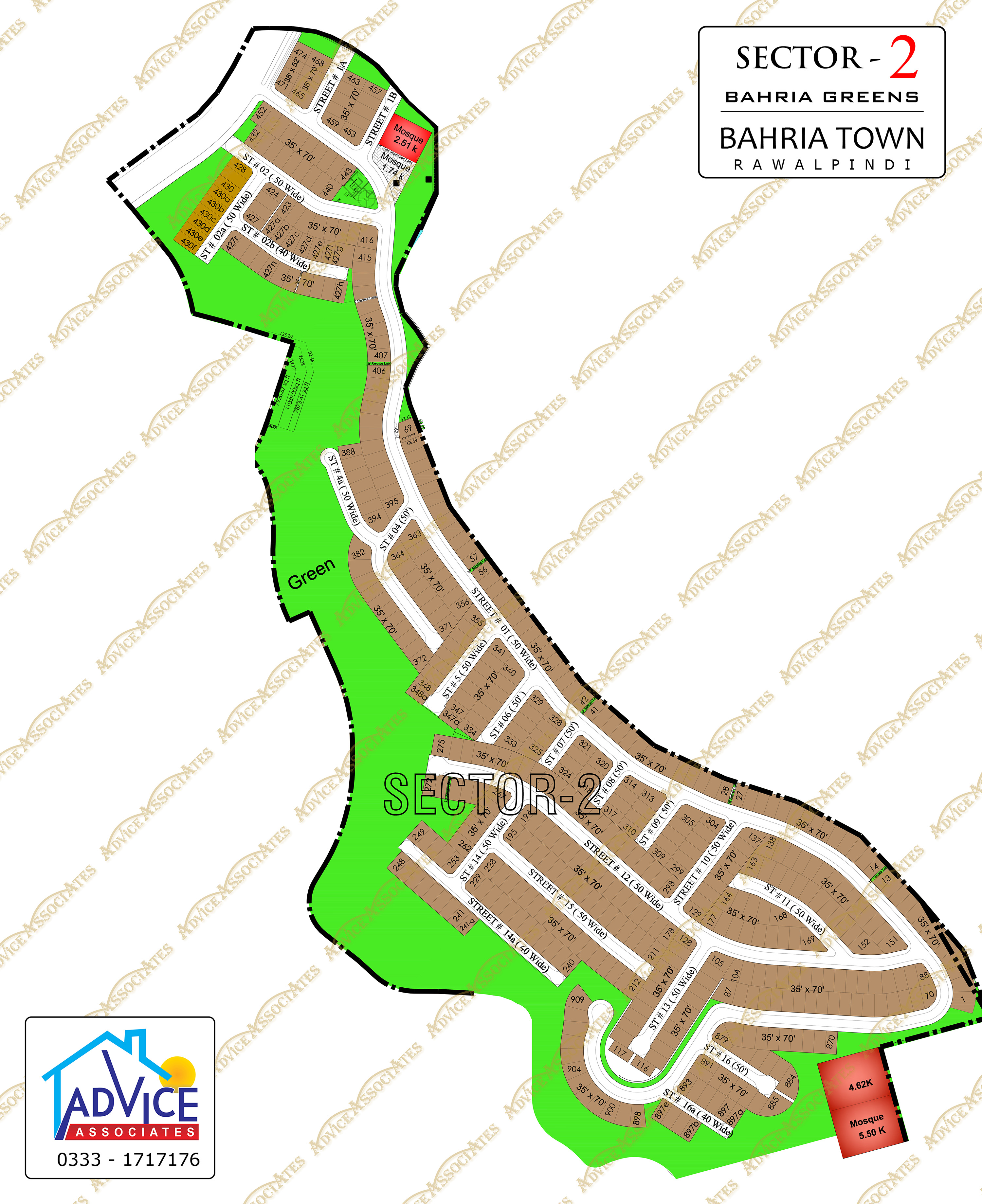 Bahria Greens Sector 2