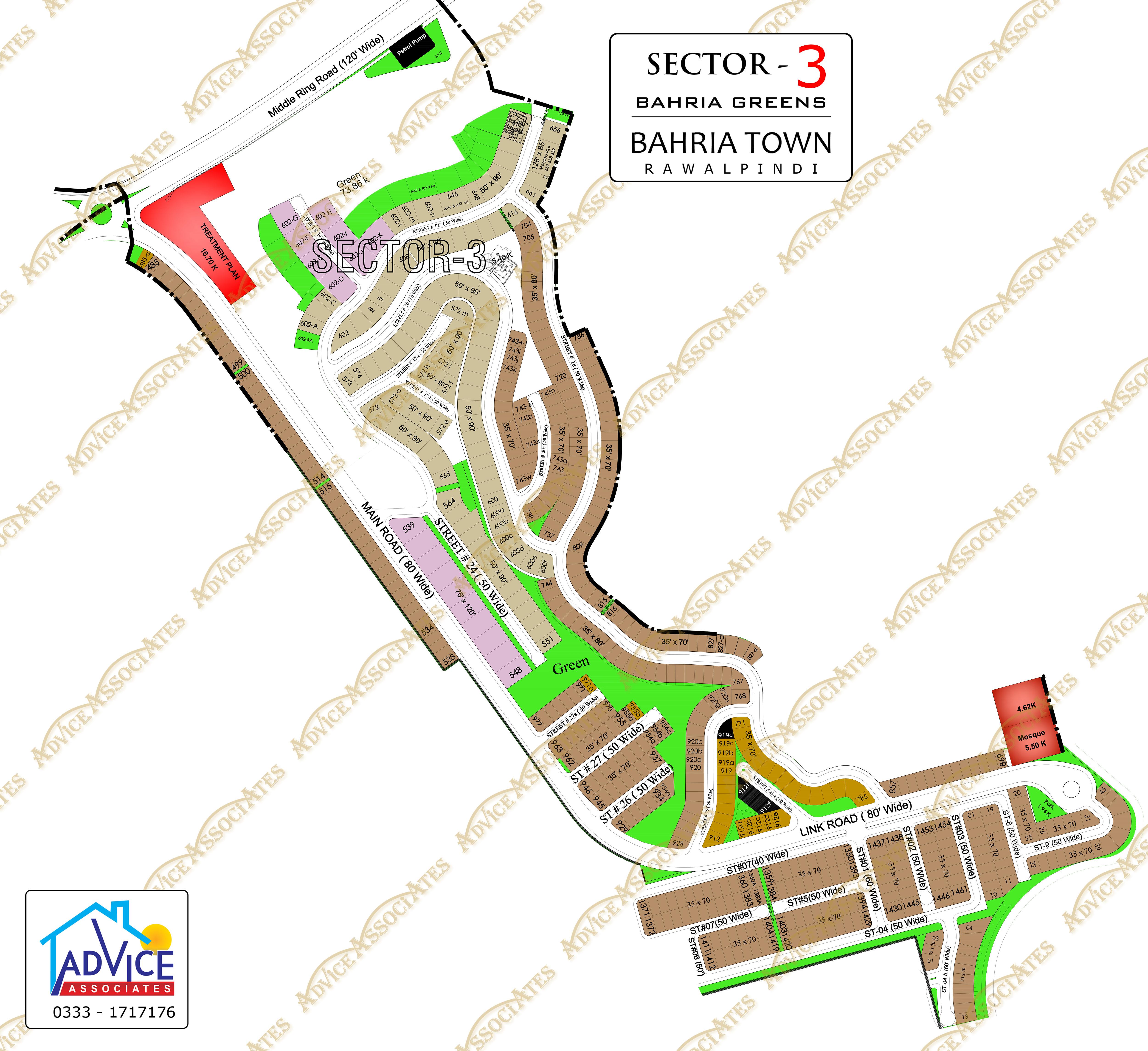 Bahria Greens Sector 3