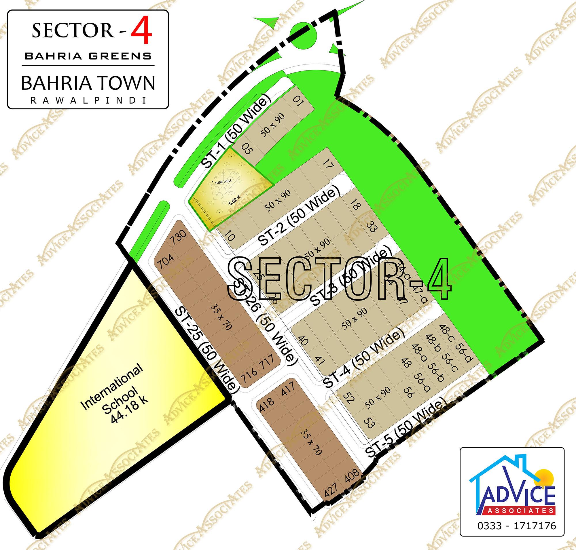 Bahria Greens Sector 4