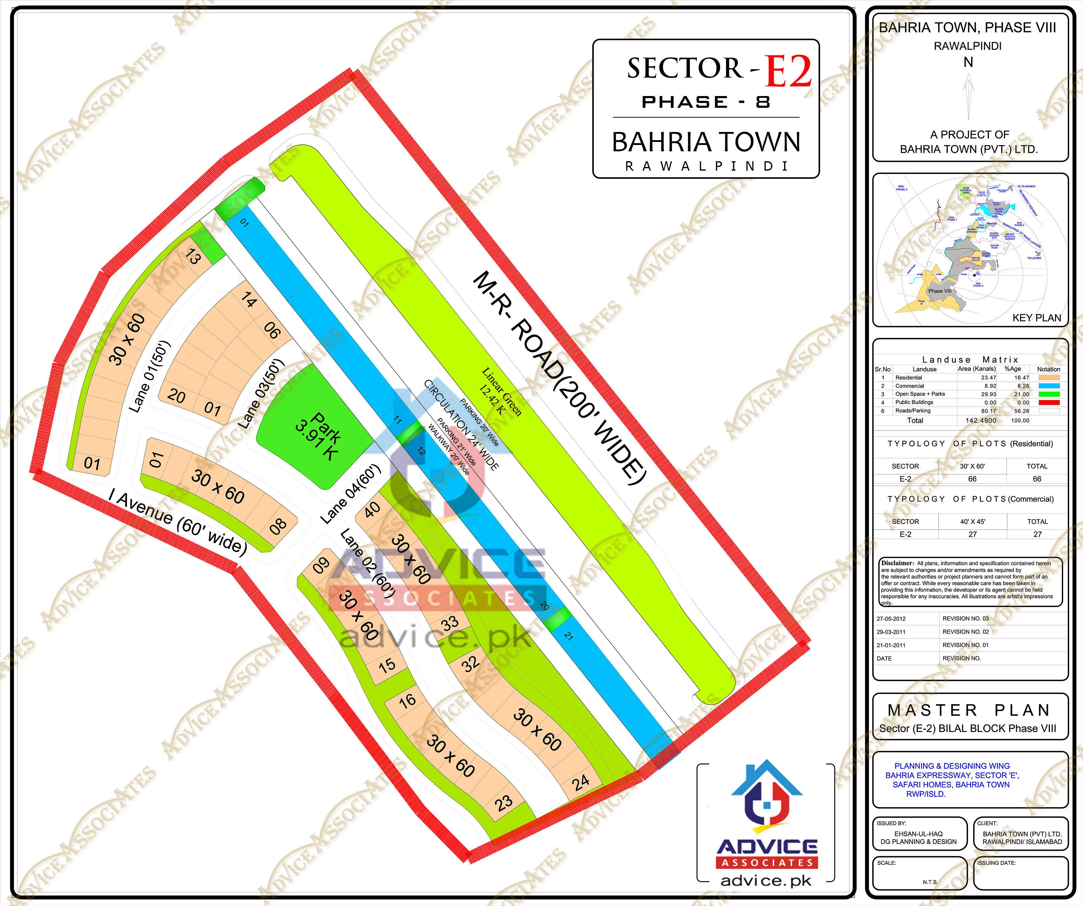 Bahria Town Phase 8 E2 Block