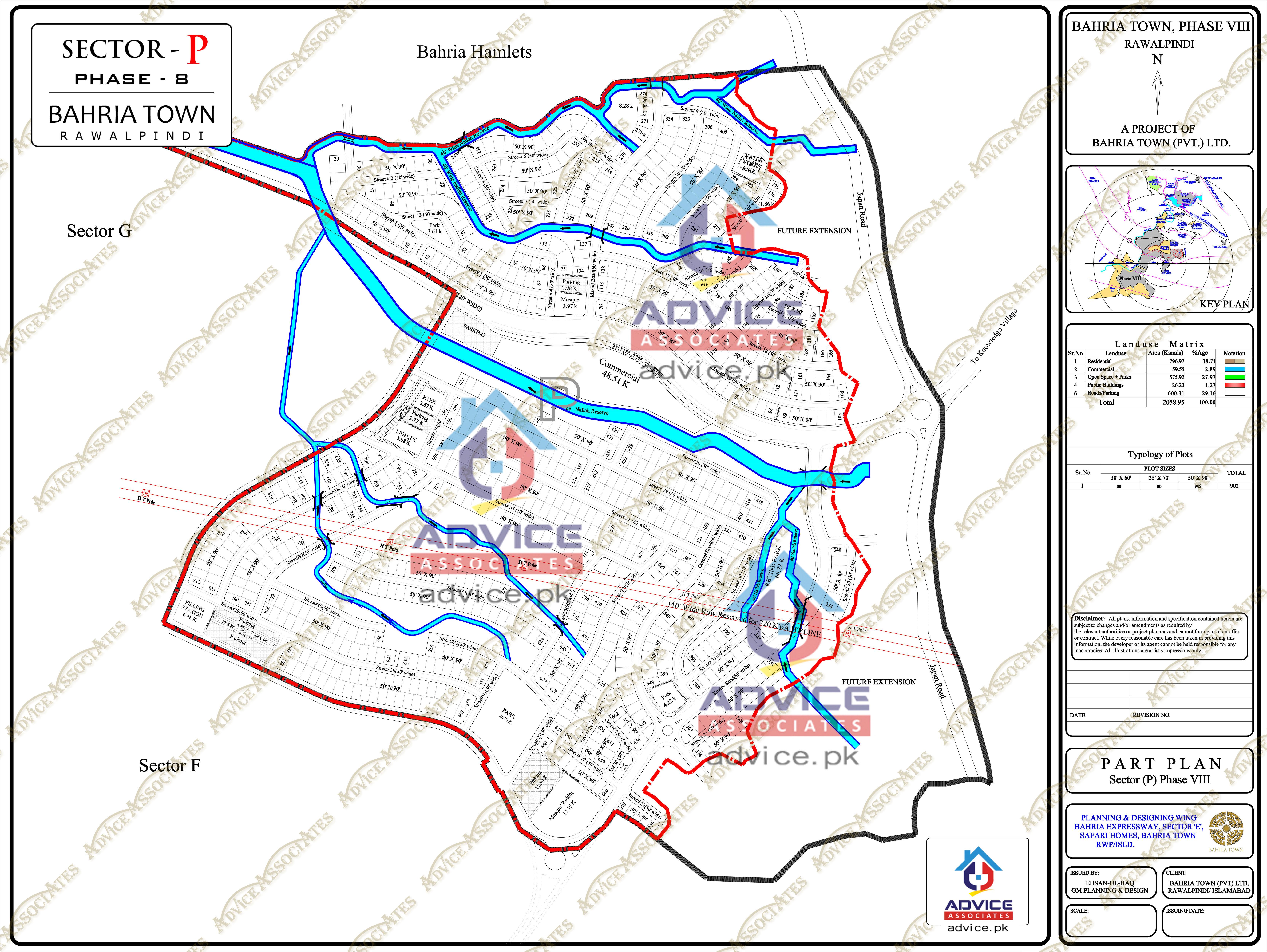 Bahria Town Phase 8 P Block