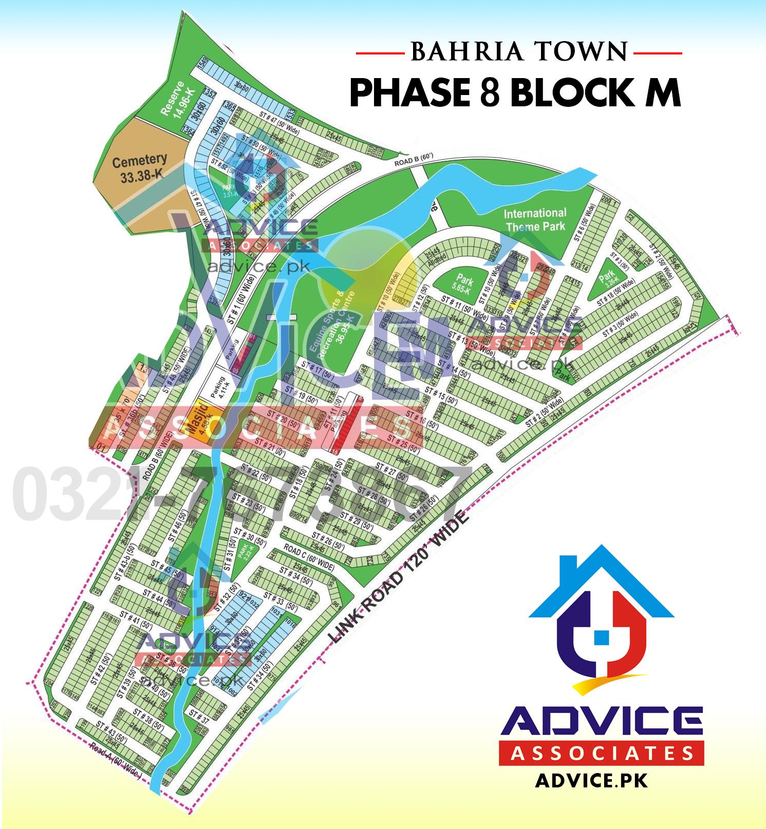 Bahria Town Phase 8 M Block