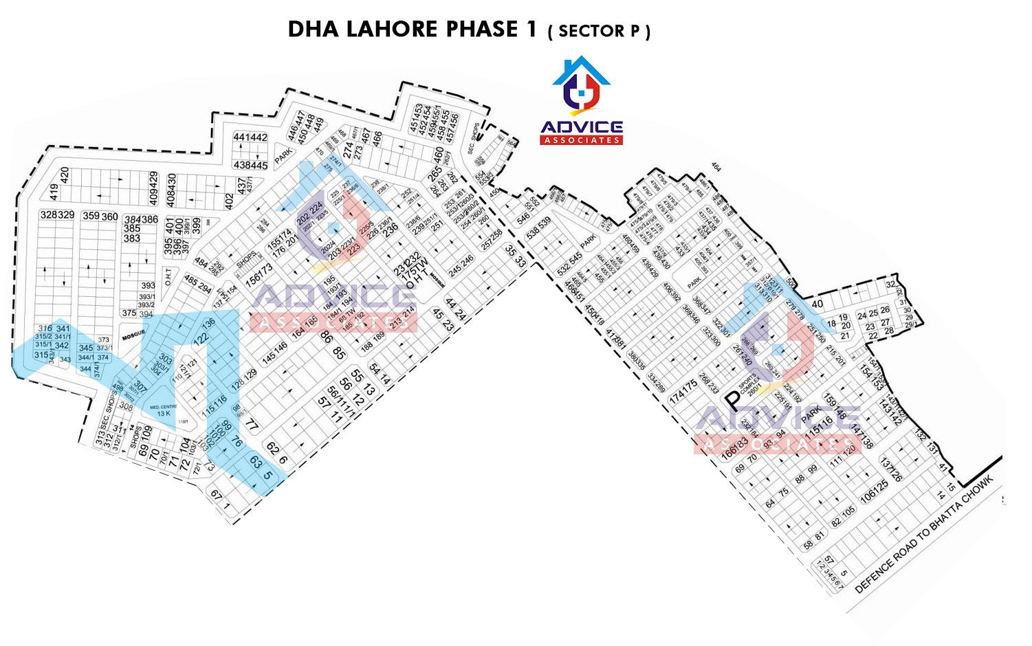 DHA Lahore Phase 1 sector P