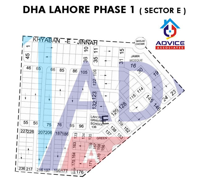 DHA Lahore Phase 1 sector E