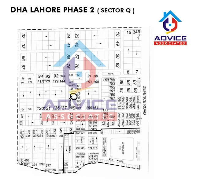 DHA Lahore Phase 2 sector Q