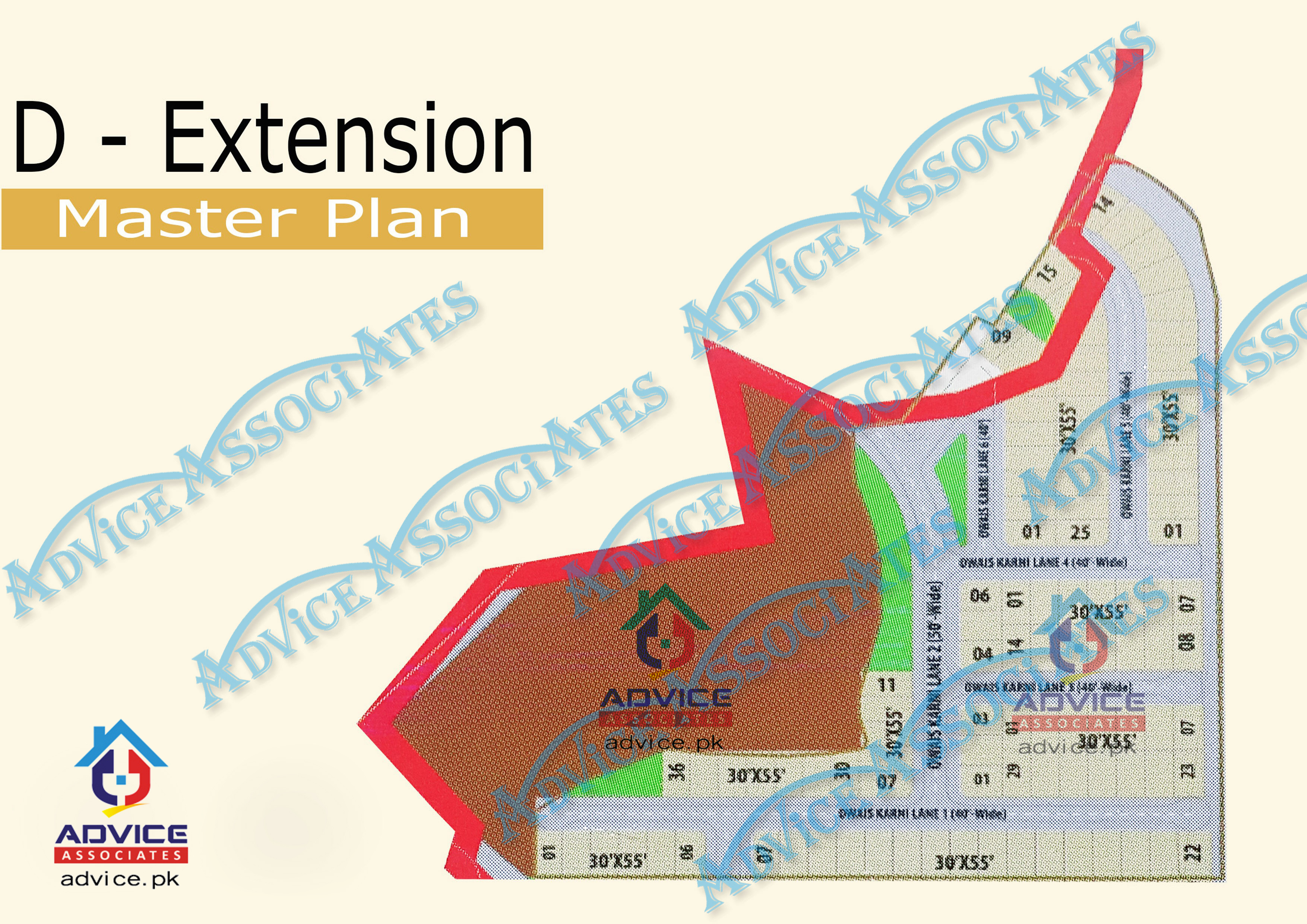 Bahria Town Phase 8 D Extension