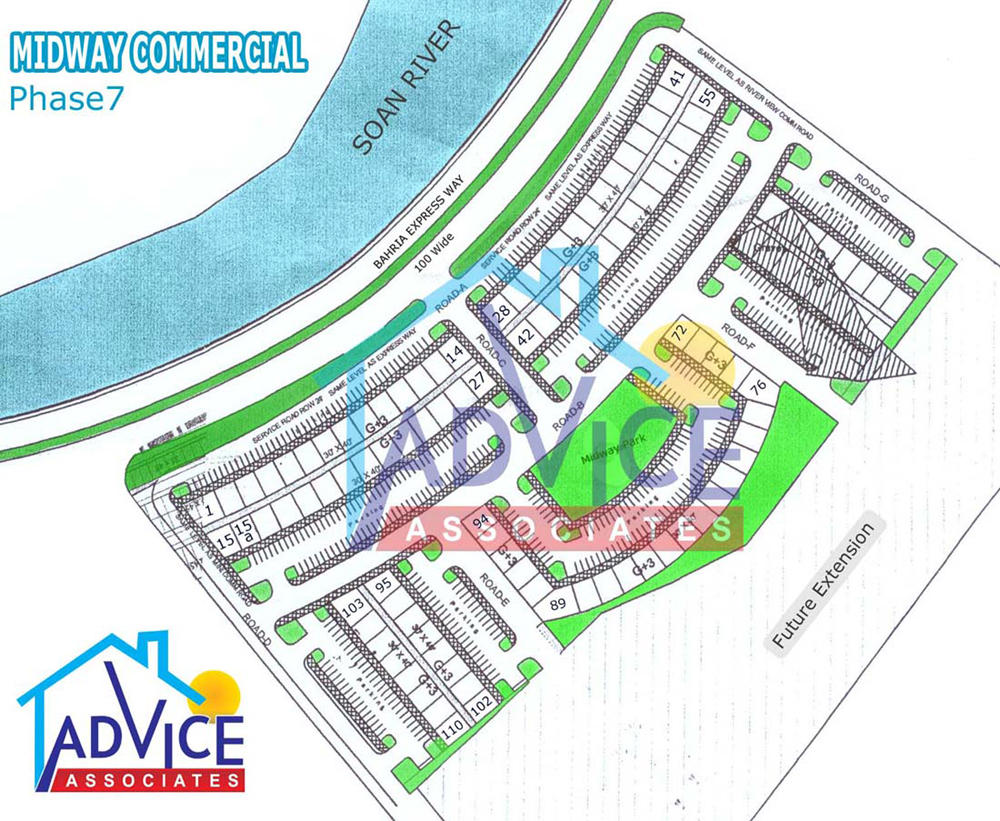 Midway Commercial Bahria Town phase 7