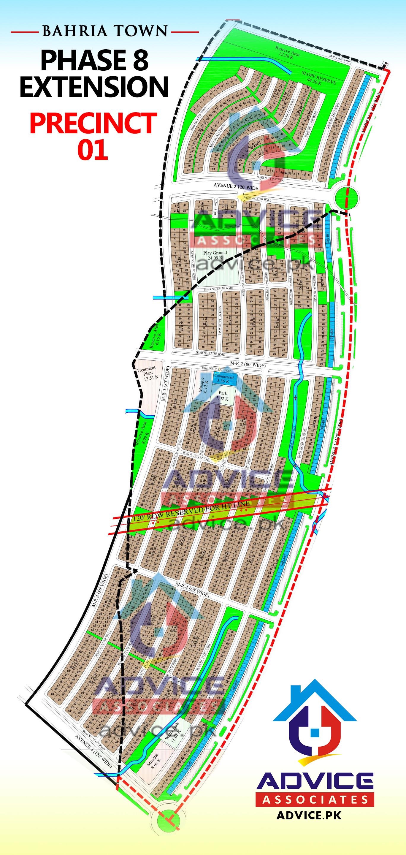 Bahria Town Phase 8 Ext Precinct 1