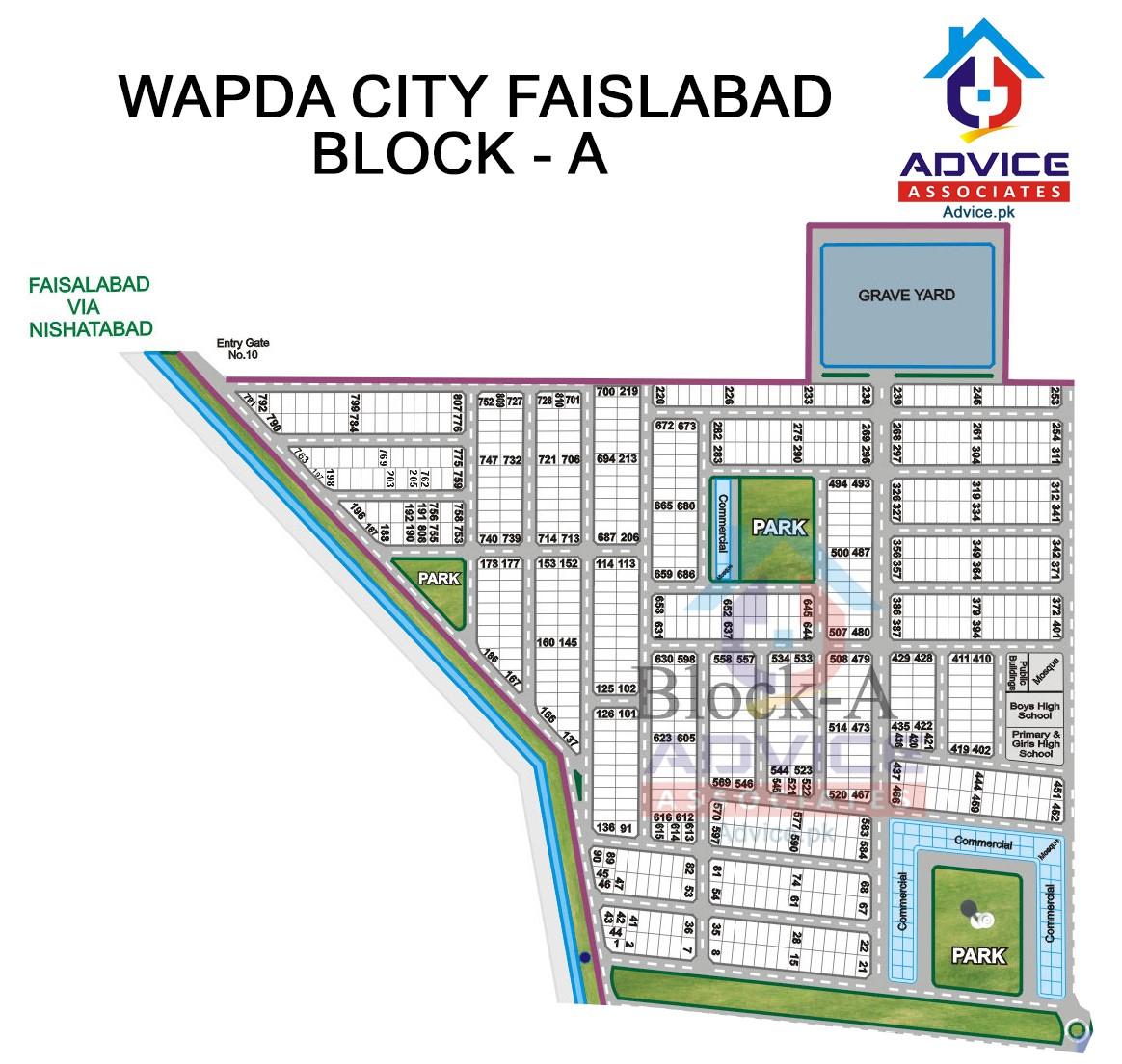 Wapda city Block A