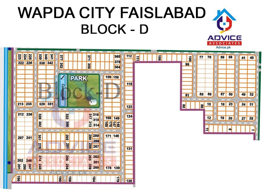 Wapda city Block D