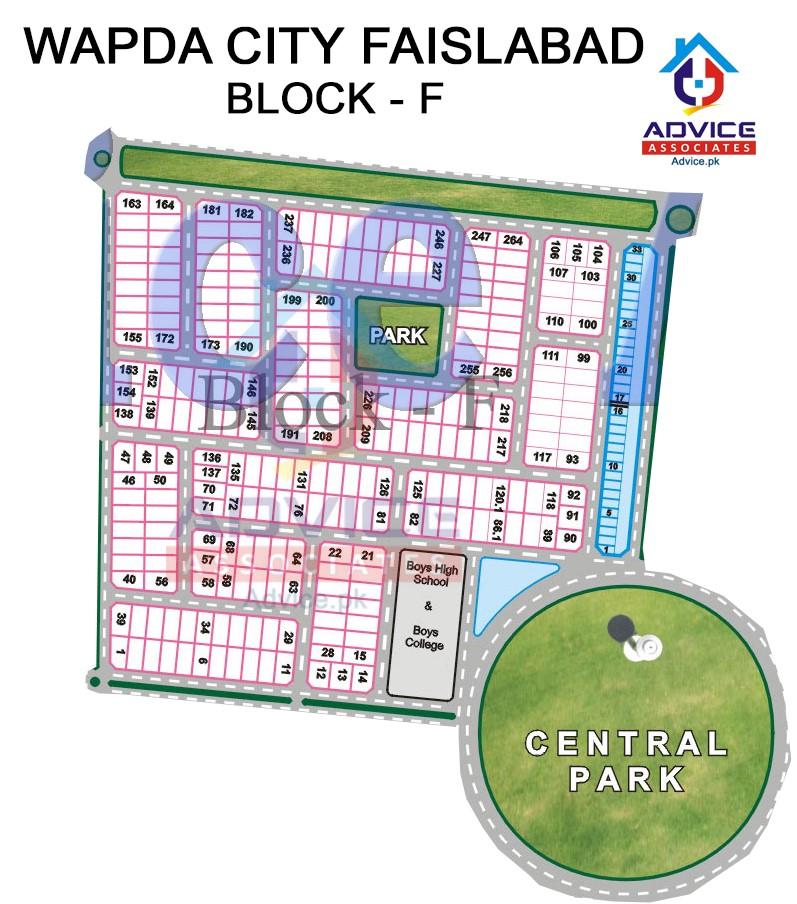 Wapda city Block F
