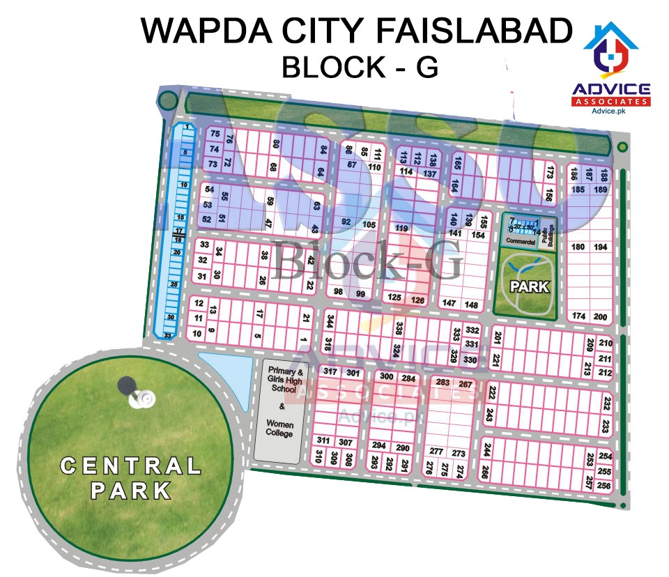 Wapda city Block G