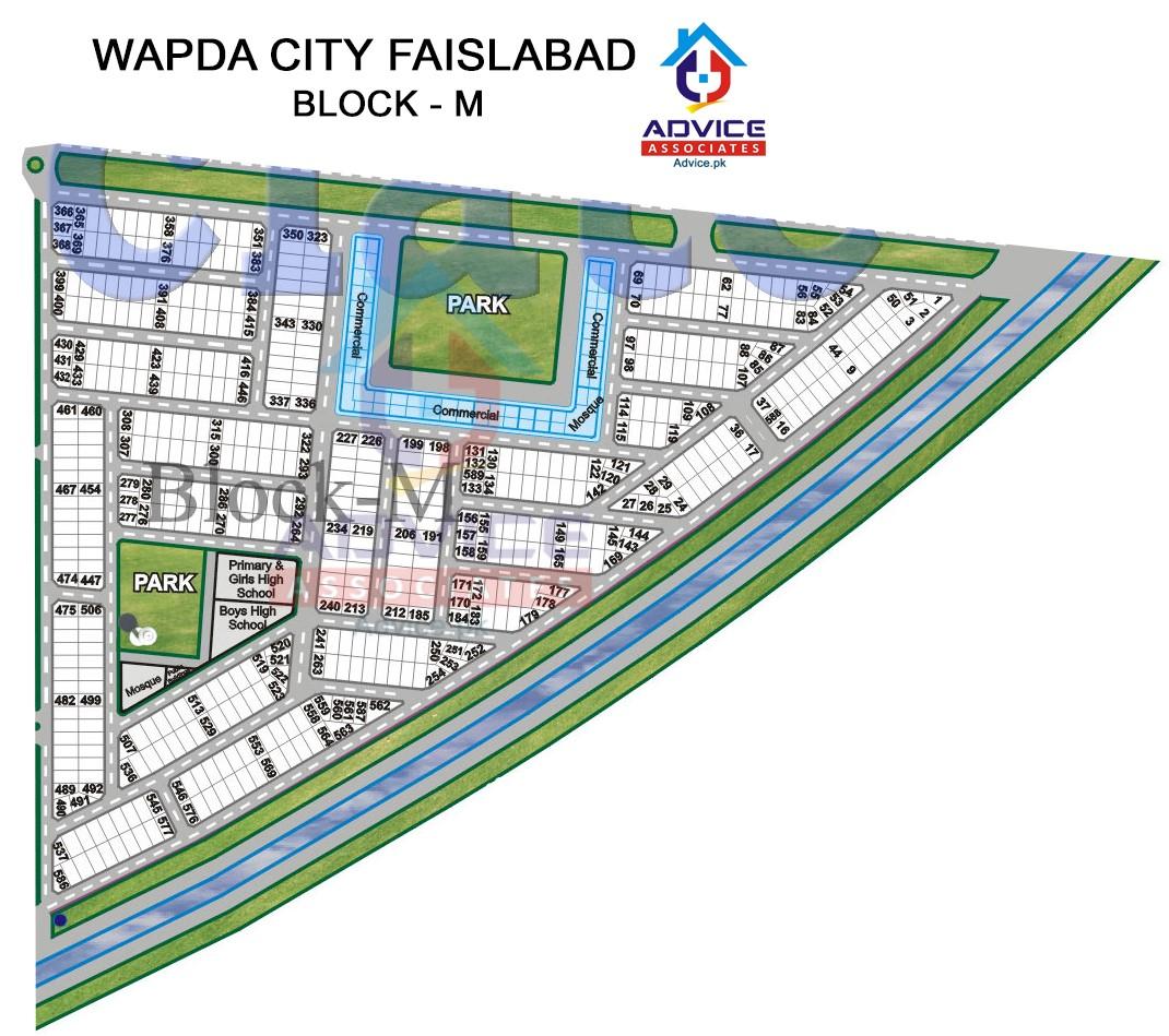 Wapda city Block M