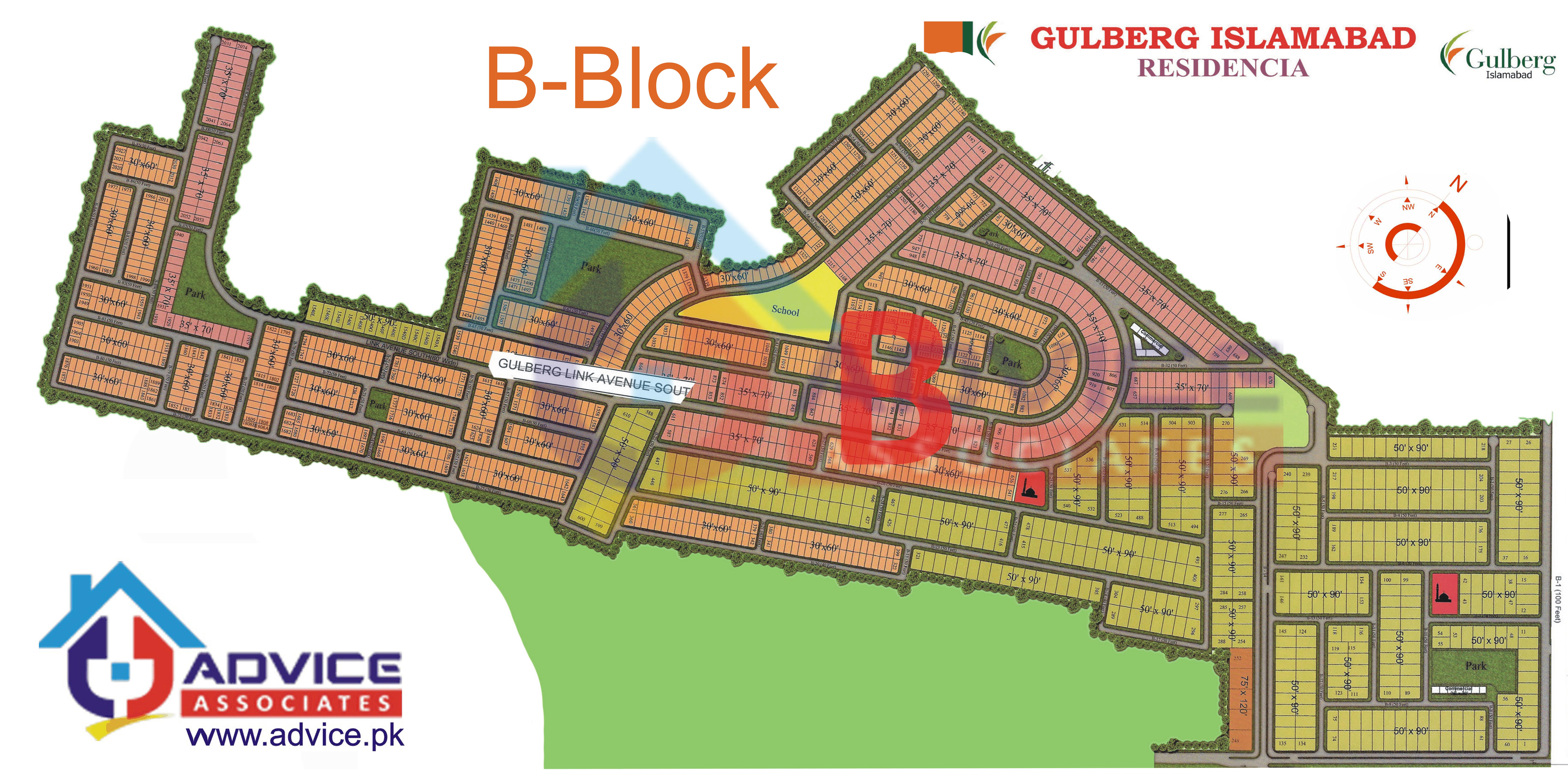 Gulberg Residentia Block B