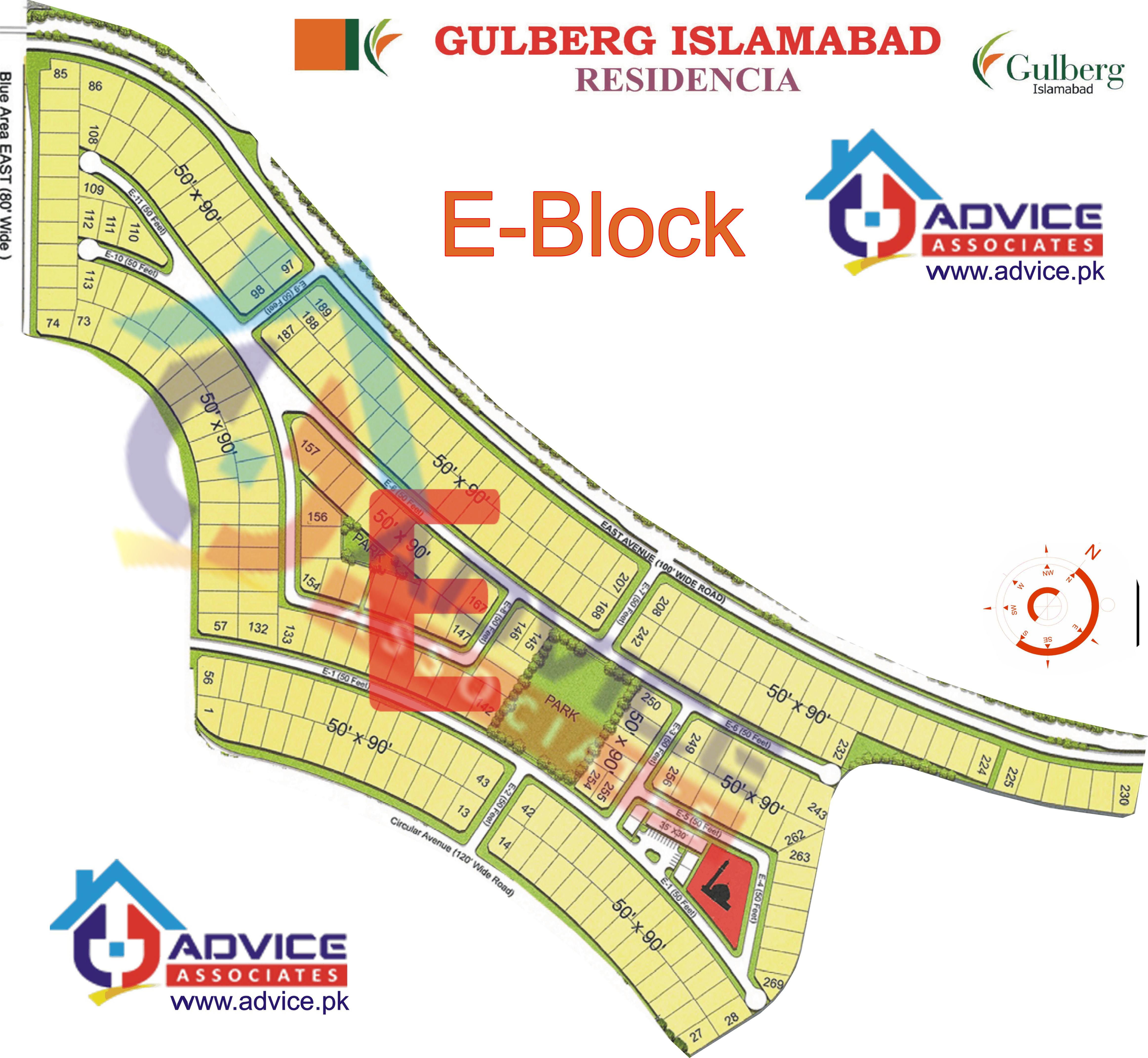 Gulberg Residentia Block E