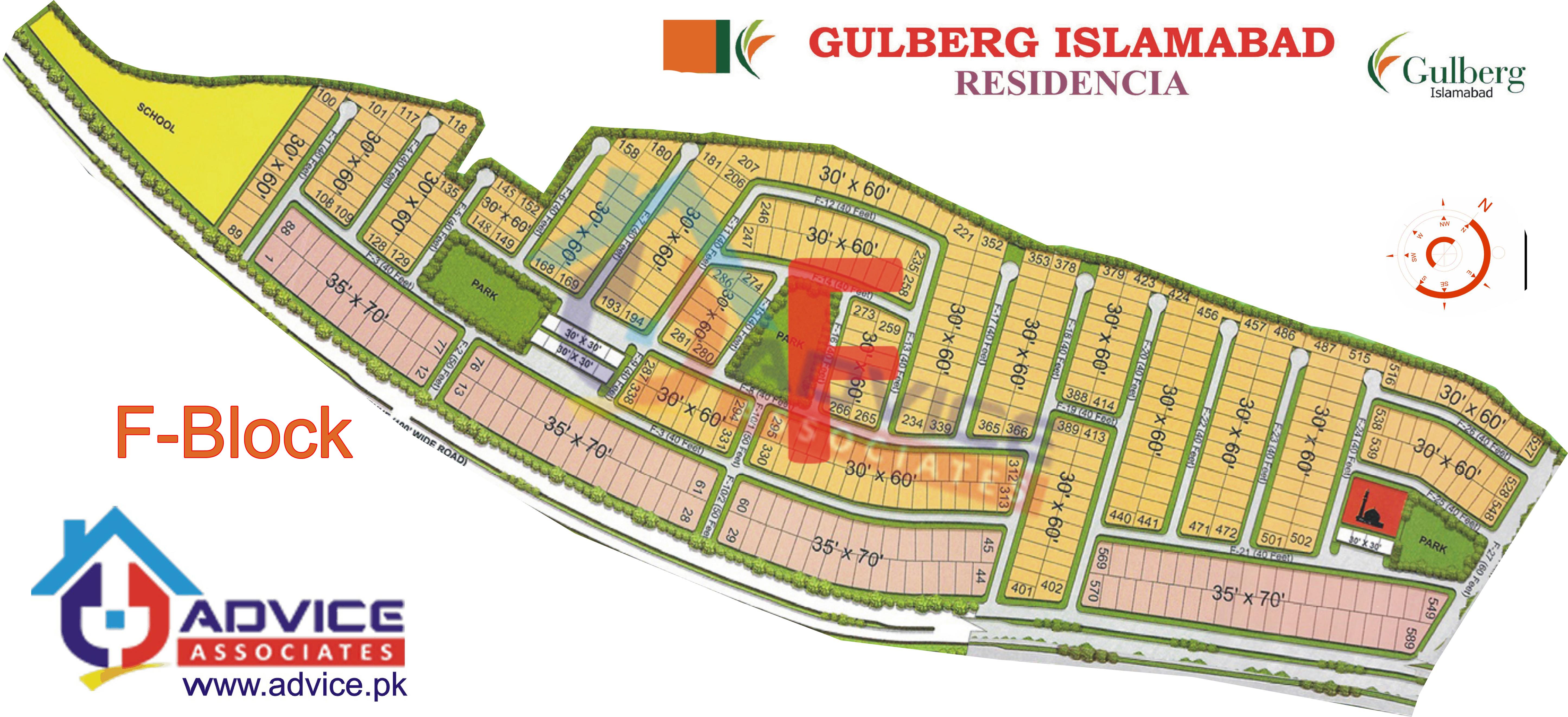 Gulberg Residentia Block F