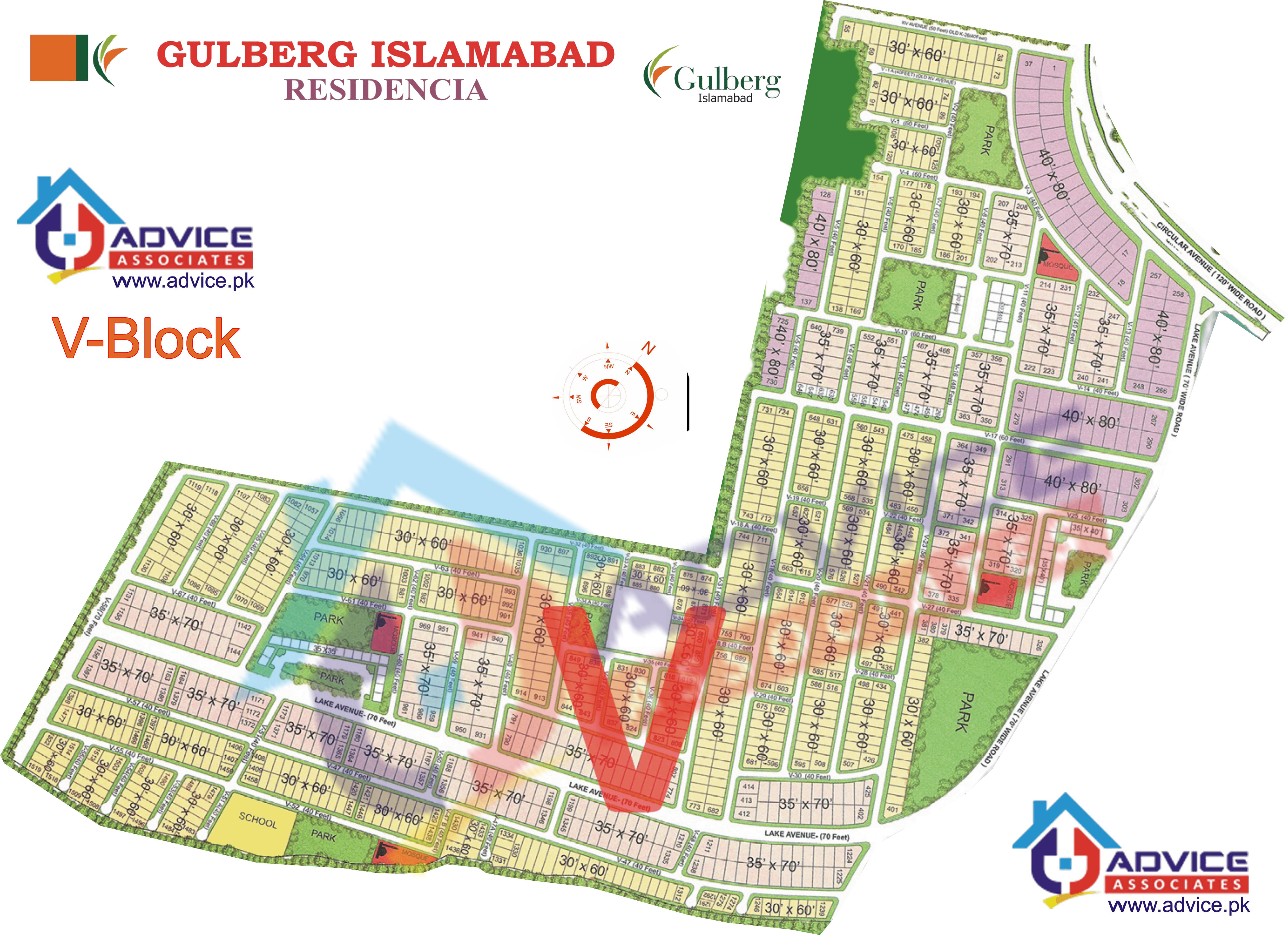 Gulberg Residentia Block V