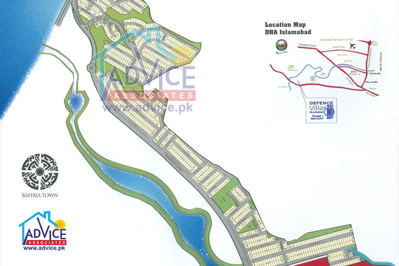 deffence villas map